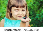 Child With A Butterfly....