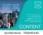 presentation layout design... | Shutterstock .eps vector #700640140