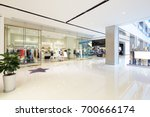 interior of hallway in shopping ... | Shutterstock . vector #700666174