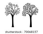2 Versions Of Tree Silhouettes...