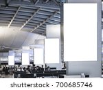 mock up light box set media... | Shutterstock . vector #700685746