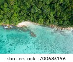 top view or aerial view of...   Shutterstock . vector #700686196