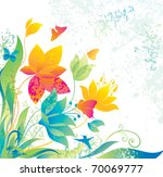 Beautiful Flower Background...