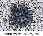 Black And White Pebbles. Zen...
