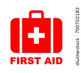 first aid kit medical icon ... | Shutterstock .eps vector #700702183