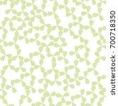 floral green seamless pattern.... | Shutterstock .eps vector #700718350