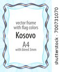 frame and border of ribbon with ...   Shutterstock .eps vector #700731070