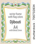 frame and border of ribbon with ...   Shutterstock .eps vector #700732834