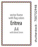 frame and border of ribbon with ...   Shutterstock .eps vector #700732948