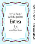 frame and border of ribbon with ...   Shutterstock .eps vector #700733128
