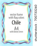 frame and border of ribbon with ...   Shutterstock .eps vector #700733260