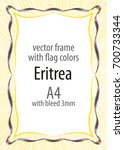 frame and border of ribbon with ...   Shutterstock .eps vector #700733344