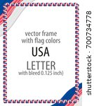 frame and border of ribbon with ...   Shutterstock .eps vector #700734778
