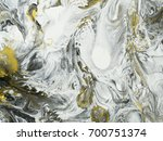 abstract hand painted black and ... | Shutterstock . vector #700751374