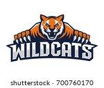 tiger logo template   Shutterstock .eps vector #700760170