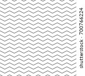 zigzag seamless pattern  ... | Shutterstock .eps vector #700766224