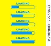 loading icon. progress bar icon ...