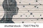 mental health relative brochure ... | Shutterstock . vector #700779670