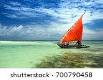 scarlet sails of the zanzibar | Shutterstock . vector #700790458