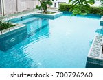 swimming pool | Shutterstock . vector #700796260