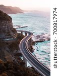 The iconic sea cliff bridge...