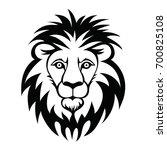 lion head logo. vector...   Shutterstock .eps vector #700825108
