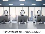 3d rendering humanoid robot... | Shutterstock . vector #700832320