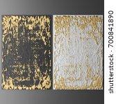 3d wall art  picture of gold... | Shutterstock . vector #700841890