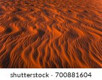 amazing view of rippled sand... | Shutterstock . vector #700881604