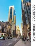 new york  usa   may 6  2015 ... | Shutterstock . vector #700887130