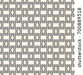 seamless pattern with gemstones ... | Shutterstock . vector #700889518