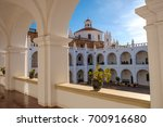 monastery in sucre  bolivia | Shutterstock . vector #700916680