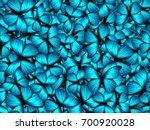 seamless pattern with lot of... | Shutterstock . vector #700920028
