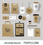 corporate branding identity... | Shutterstock .eps vector #700921288