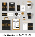 corporate branding identity... | Shutterstock .eps vector #700921330