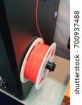 3d printing filaments | Shutterstock . vector #700937488