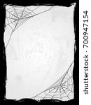 spider web vector frame vector... | Shutterstock .eps vector #700947154