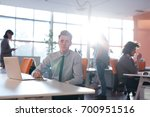 young entrepreneur freelancer... | Shutterstock . vector #700951516