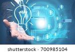 idea concept. | Shutterstock . vector #700985104