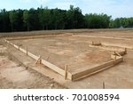 foundation preparation | Shutterstock . vector #701008594