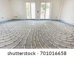 underfloor heating in...   Shutterstock . vector #701016658