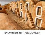 Tunisian Granery. Old Ruins Of...