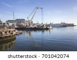 cape town harbor  south africa. ... | Shutterstock . vector #701042074