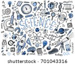 engraved hand drawn in old... | Shutterstock .eps vector #701043316