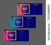 drinks menu. cocktail. set. ... | Shutterstock .eps vector #701048890