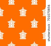traditional korean pagoda... | Shutterstock .eps vector #701070856