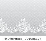 Seamless Vector White Lace...