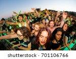 benicassim  spain   jul 17  the ... | Shutterstock . vector #701106766