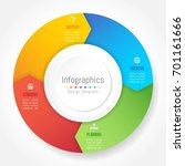 infographic design elements for ... | Shutterstock .eps vector #701161666