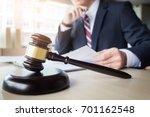 gavel and soundblock fo justice ...   Shutterstock . vector #701162548
